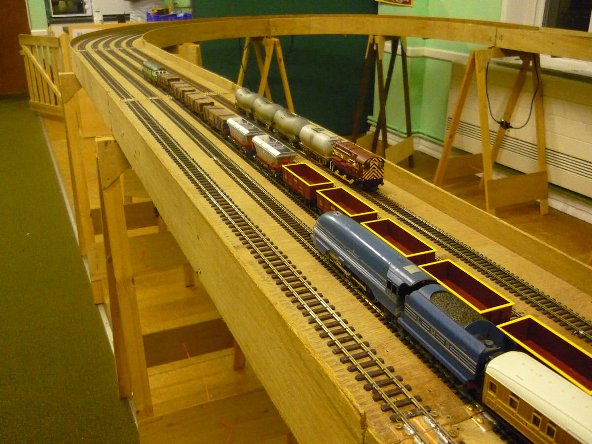 hillingdon railway modellers oo gauge layouts oo gauge test track